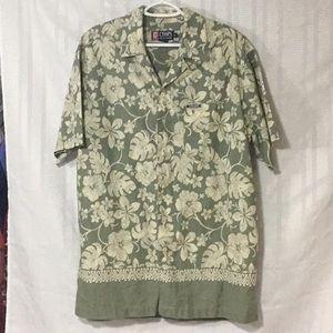 Mens rAULPH LAUREN CHAPS button down Hawaian Shirt